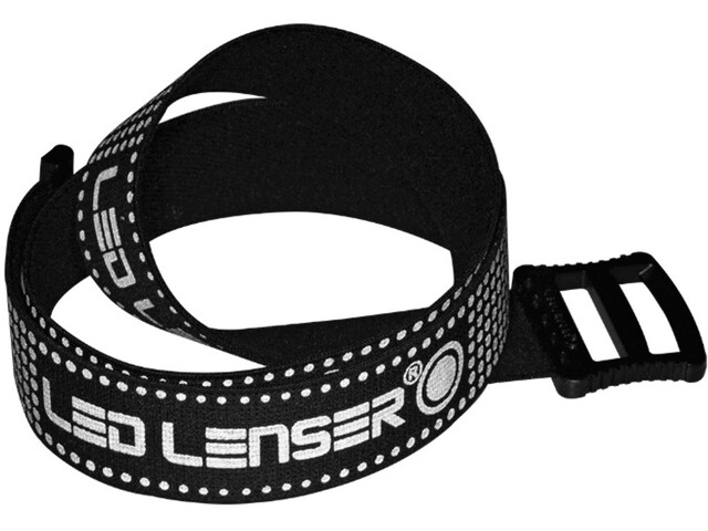 Led Lenser Rubberized Cinta para el casco, black